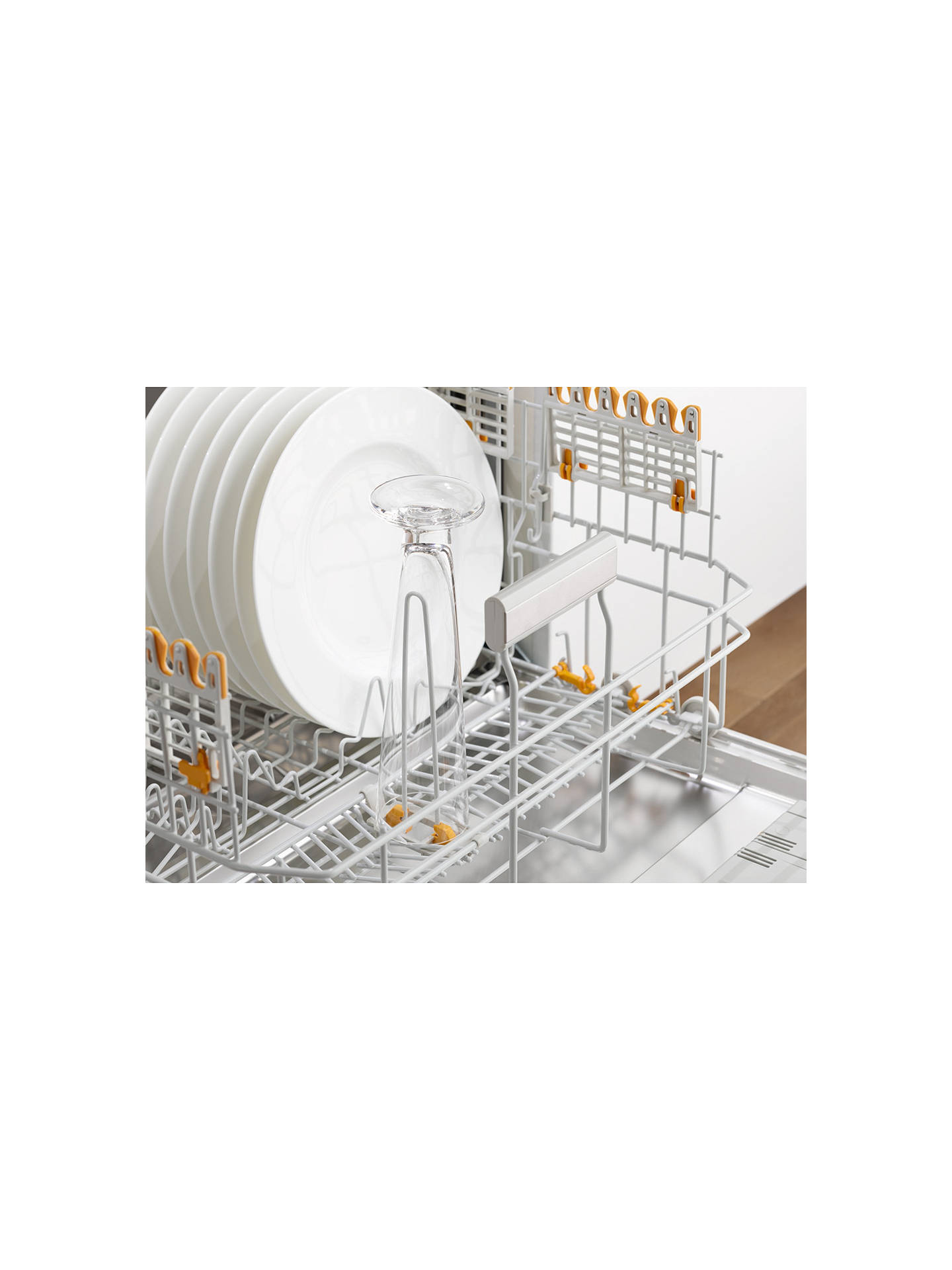 Miele G6820 SC Freestanding Dishwasher, White at John Lewis
