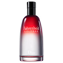 Buy Dior Fahrenheit Cologne Online at johnlewis.com