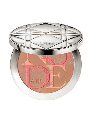 Buy Diorskin Nude Air Glow Powder, 004 Warm Light Online at johnlewis.com