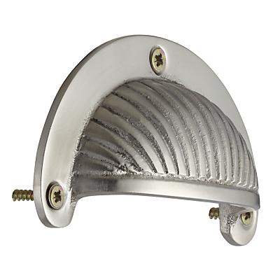 Image of John Lewis Deco Cup Drawer Pull, Satin Nickel