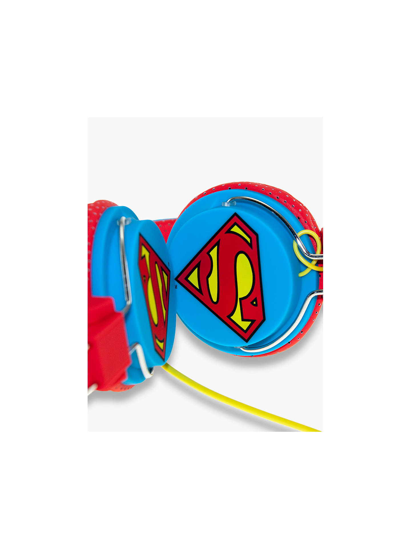 BuyKondor Superman Man Of Steel On-Ear Headphones Online at johnlewis.com