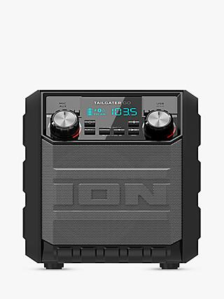 ION Tailgater GO Splash-Resistant Bluetooth NFC Portable Speaker