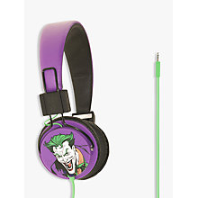Buy Kondor Batman The Joker On-Ear Headphones Online at johnlewis.com