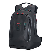 Buy Samsonite Paradiver Large Laptop Backpack, Black Online at johnlewis.com