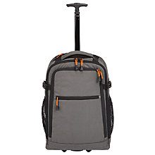 Buy John Lewis Trail Wheelend Backpack Cabin Case, Charcoal Online at johnlewis.com