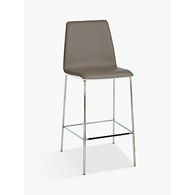 John Lewis Xavier Bar Chair, Brown