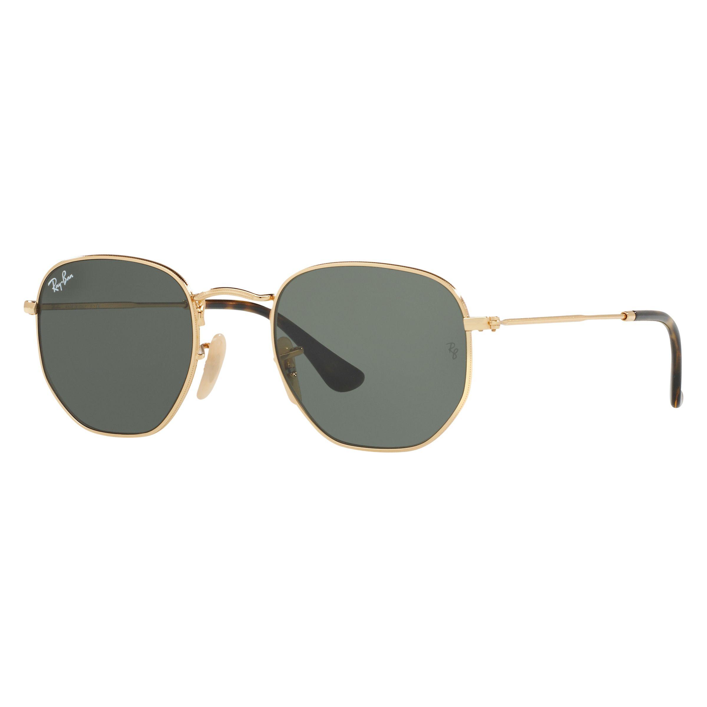 6a529d0ec57e Ray-Ban RB3548 Hexagonal Flat Lens Sunglasses at John Lewis   Partners