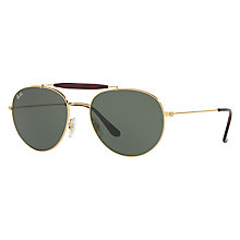 Buy Ray-Ban RB3540 Oval Sunglasses Online at johnlewis.com