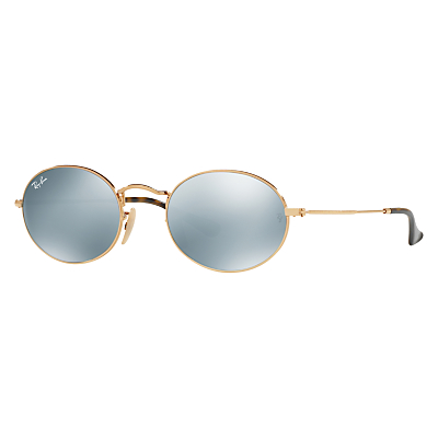 Ray-Ban RB3547 Oval Flat Lens Sunglasses