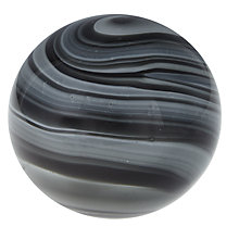 Buy John Lewis Marble Paperweight, Black Online at johnlewis.com