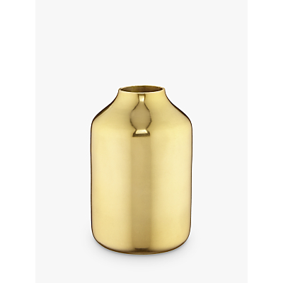 Design Project by John Lewis No.068 Vase, Tall, Brass