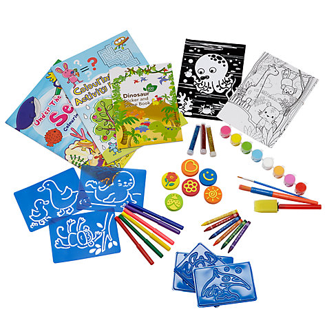 Buy John Lewis Art Activity Kit Online at johnlewis.com
