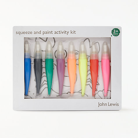 Buy John Lewis Squeeze & Paint Activity Set Online at johnlewis.com