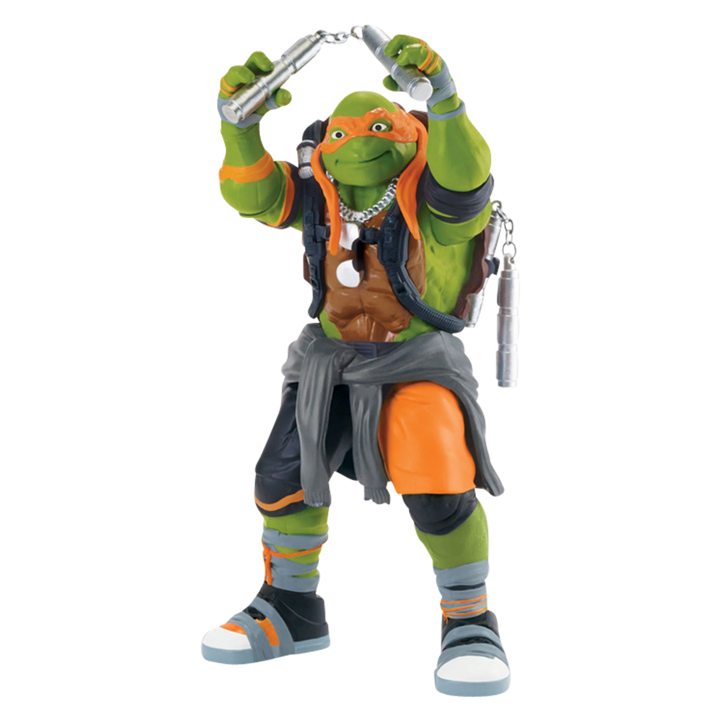 Teenage Mutant Ninja Turtles 2 Out Of The Shadows Mikey Deluxe Action Figure At John Lewis Partners