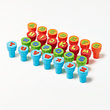 Buy John Lewis Alphabet Stampers Online at johnlewis.com