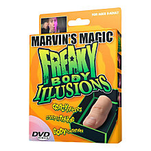 Buy Marvin's Magic Freaky Body Illusions Pack 3 Online at johnlewis.com