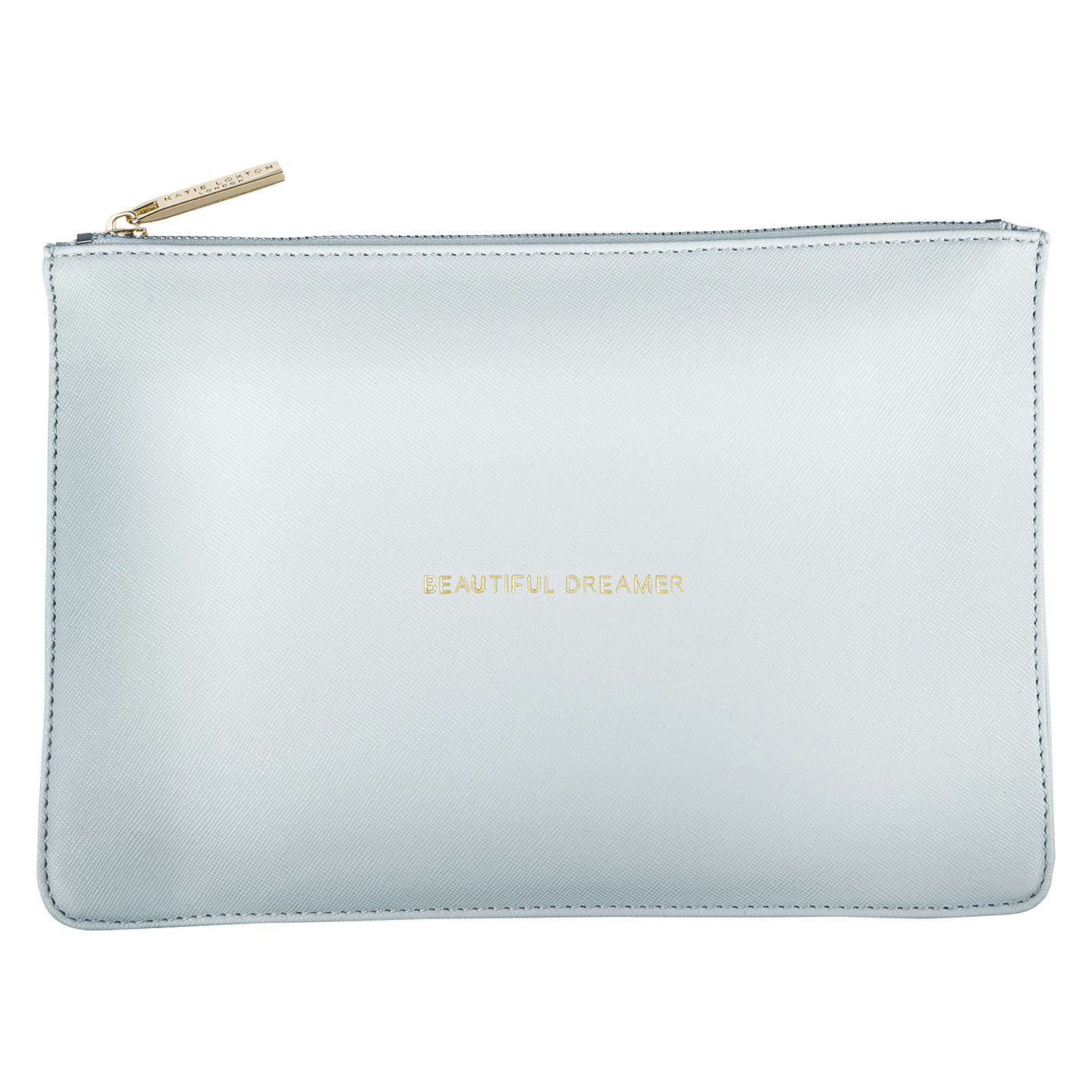 BuyKatie Loxton The Perfect Pouch 'Beautiful Dreamer', Blue Online at johnlewis.com