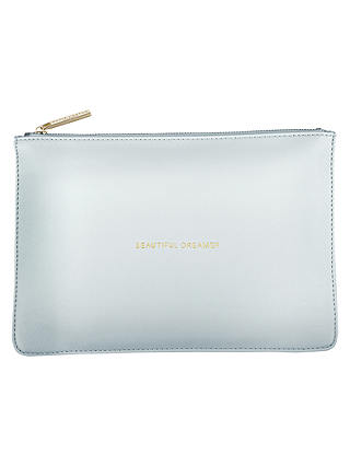 GOOD AS GOLD with gift bag Katie Loxton Perfect Pouch Clutch Bag Metallic Gold