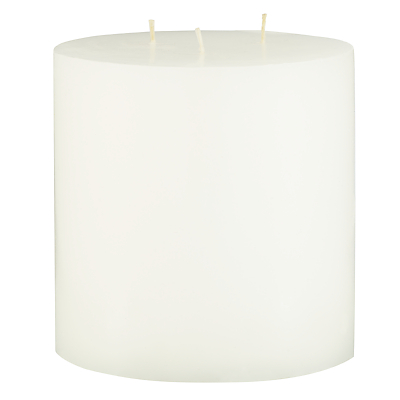 John Lewis Croft Collection Pillar Candle, H12.7cm, Unscented