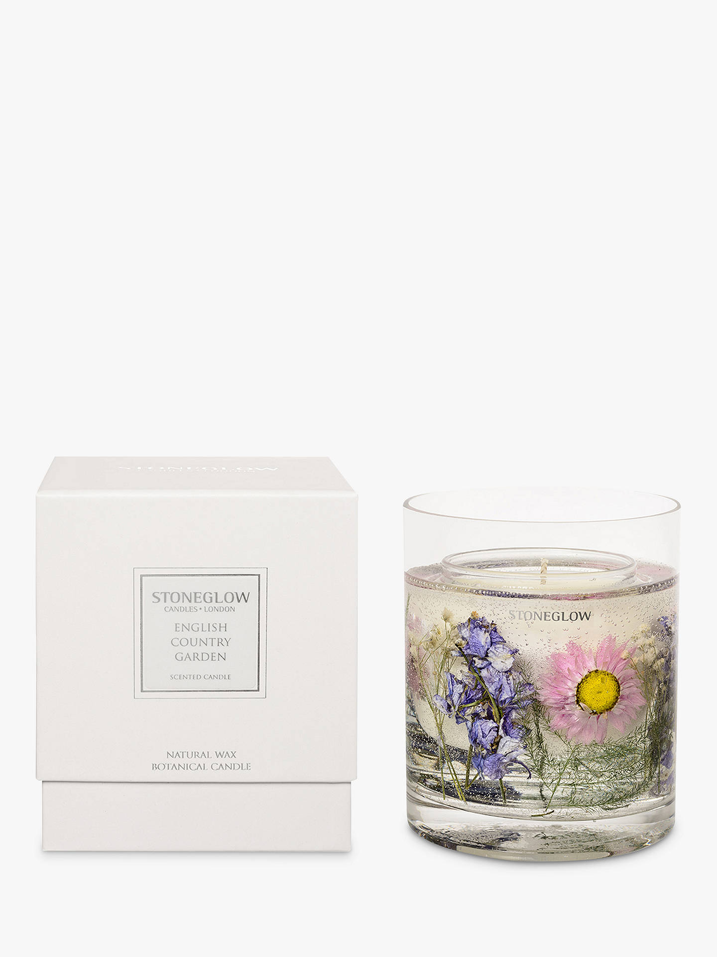 BuyStoneglow Nature's Gift English Country Garden Scented Gel Candle Online  at johnlewis. ...