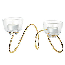 Buy black+blum Outdoor Loop Tealight Holder Online at johnlewis.com