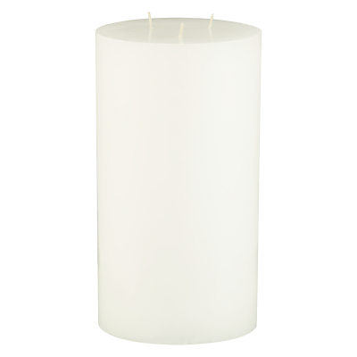 John Lewis Croft Collection Pillar Candle, H22.8 x Dia.12.7cm, Unscented