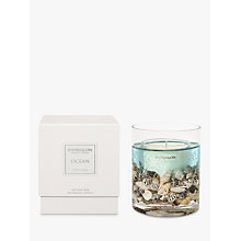 Buy Stoneglow Nature's Gift Ocean Scented Gel Candle Online at johnlewis.com