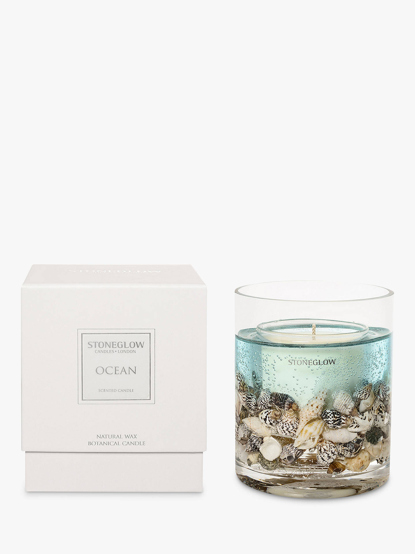 Stoneglow Nature's Gift Ocean Scented Gel Candle
