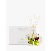 Buy Stoneglow Nature's Gift Red Roses Diffuser, 200ml Online at johnlewis.com