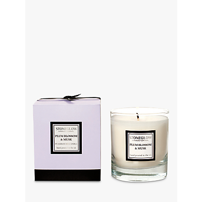 Stoneglow Modern Classics Plum Blossom and Musk Scented Candle