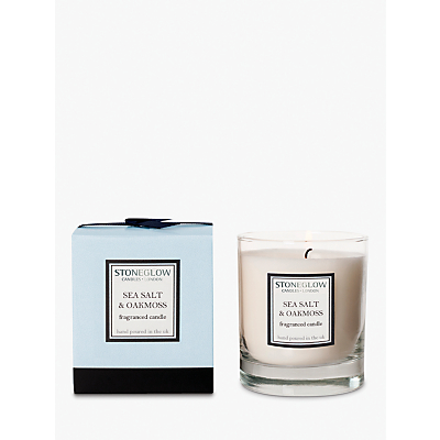 Stoneglow Modern Classics Seasalt and Oakmoss Scented Candle