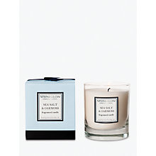 Buy Stoneglow Modern Classics Seasalt and Oakmoss Scented Candle Online at johnlewis.com