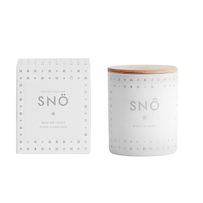 SKANDINAVISK Sno Scented Candle with Lid