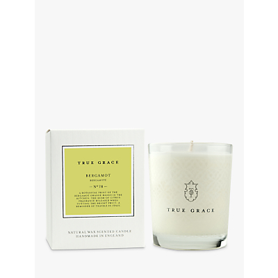 True Grace Village Bergamot Scented Candle