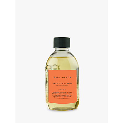 True Grace Village Oranges and Lemons Diffuser Refill, 250ml