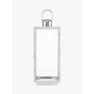 John Lewis Mayfair Rectangle Candle Holder, Large