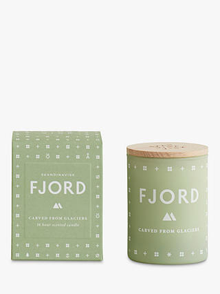 Buy SKANDINAVISK Fjord Mini Scented Candle with Lid Online at johnlewis.com