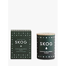Buy SKANDINAVISK Skog Mini Scented Candle with Lid Online at johnlewis.com