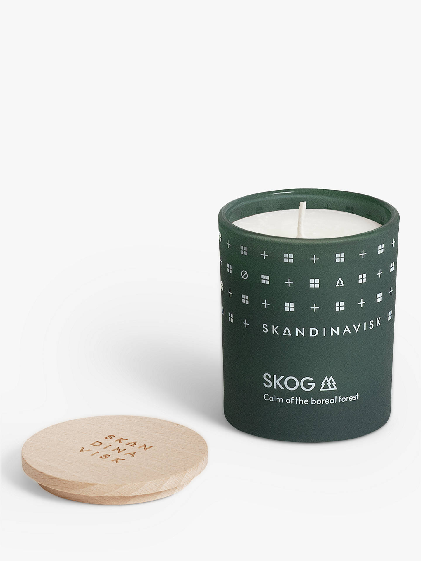 BuySKANDINAVISK Skog Mini Scented Candle with Lid Online at johnlewis.com