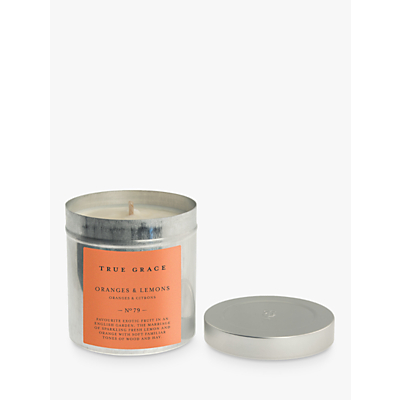 True Grace Village Oranges and Lemons Scented Candle Tin