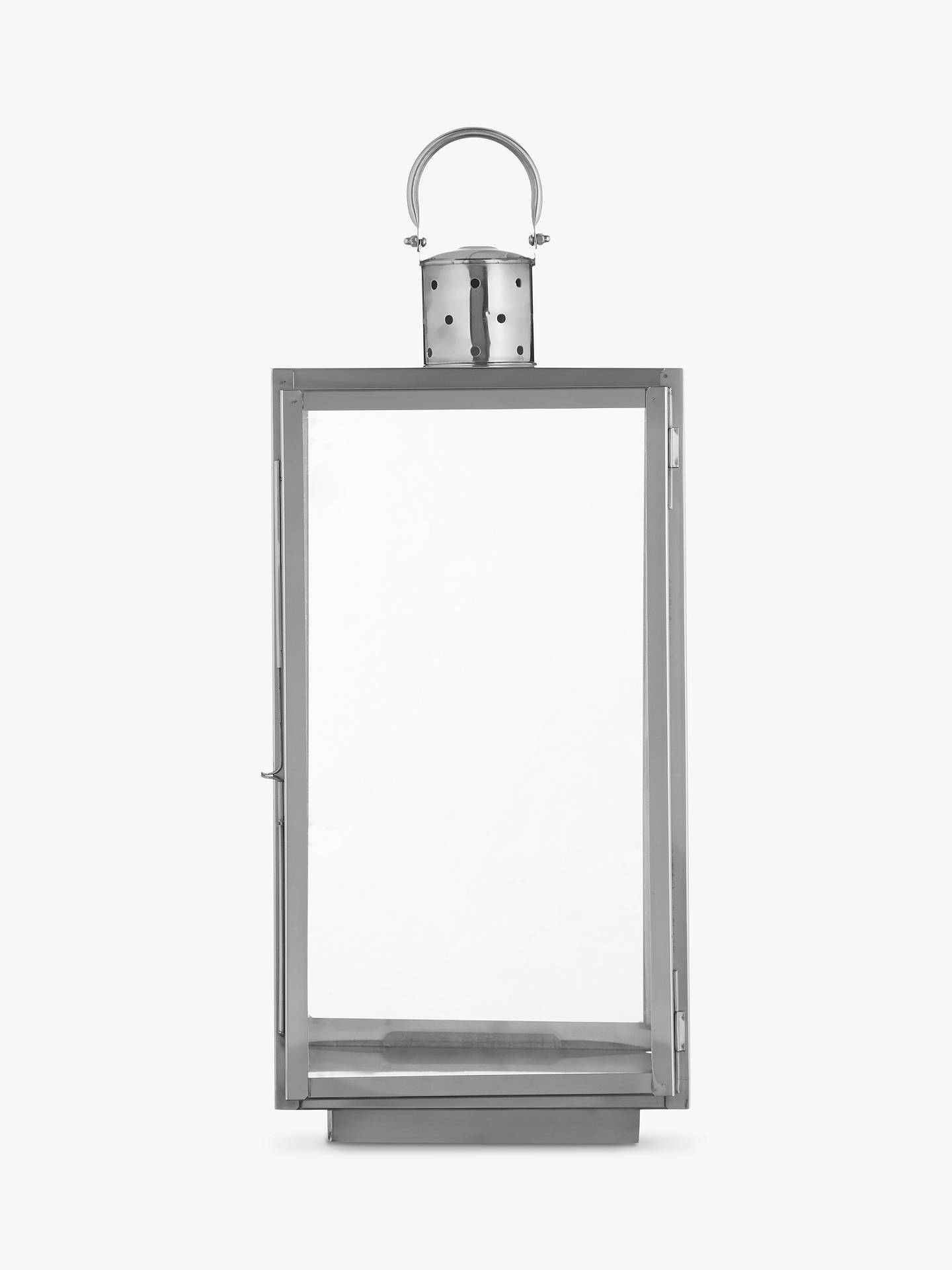 Buy John Lewis & Partners Mayfair Rectangle Candle Holder, Medium Online at johnlewis.com