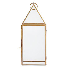Buy John Lewis Pyramid Lantern, Medium Online at johnlewis.com