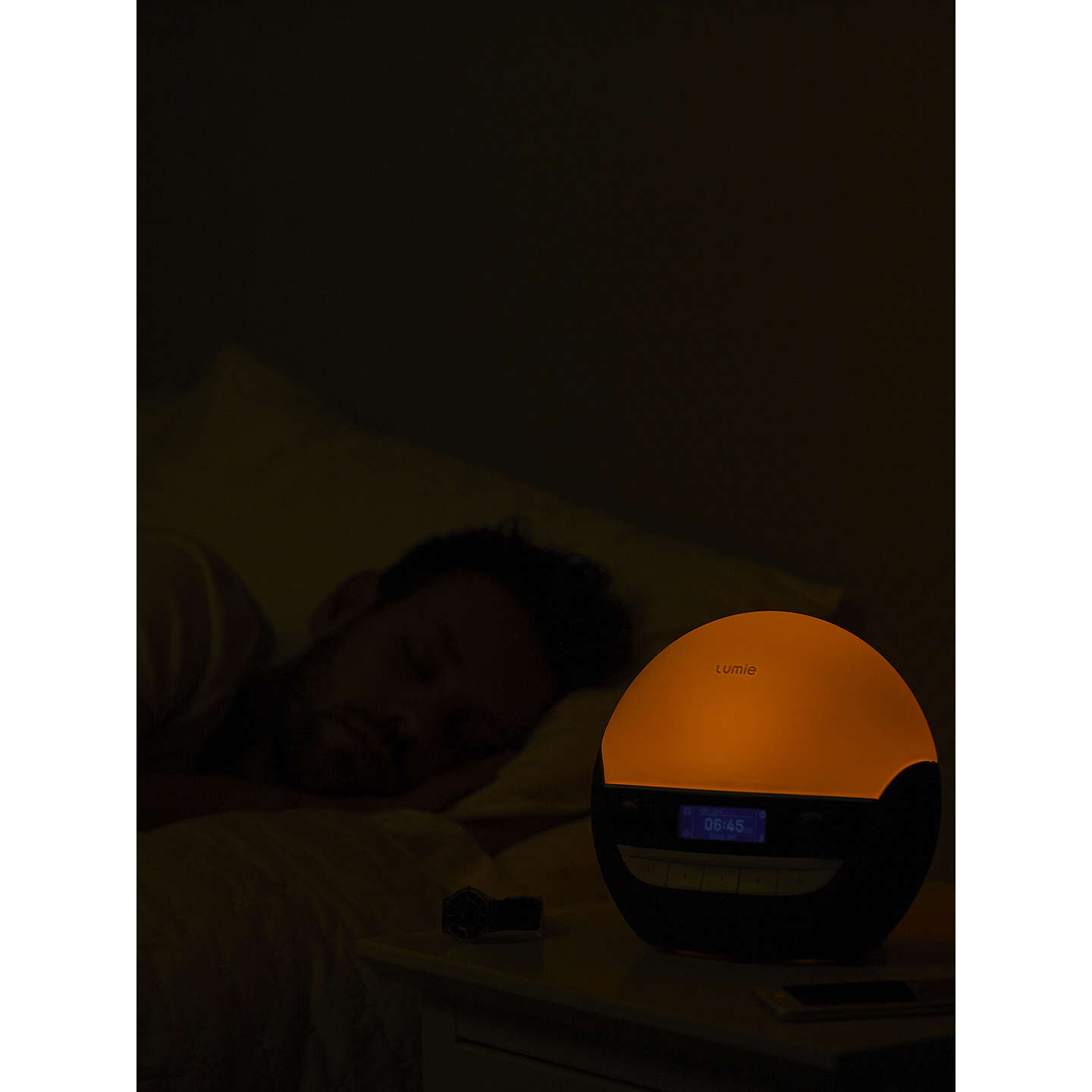 BuyLumie Bodyclock Luxe 700 Wake up to Daylight SAD Light Online at johnlewis.com