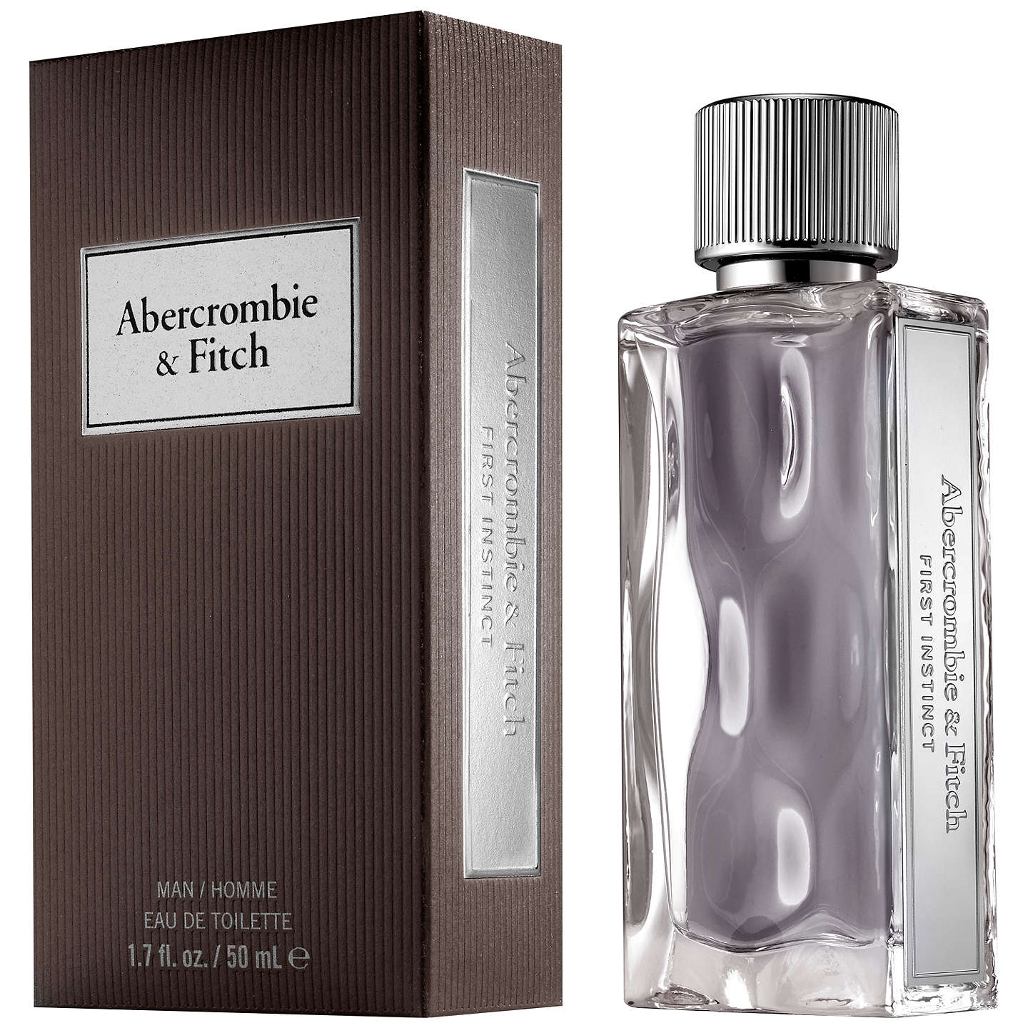 BuyAbercrombie & Fitch First Instinct Eau de Toilette, 50ml Online at johnlewis.com