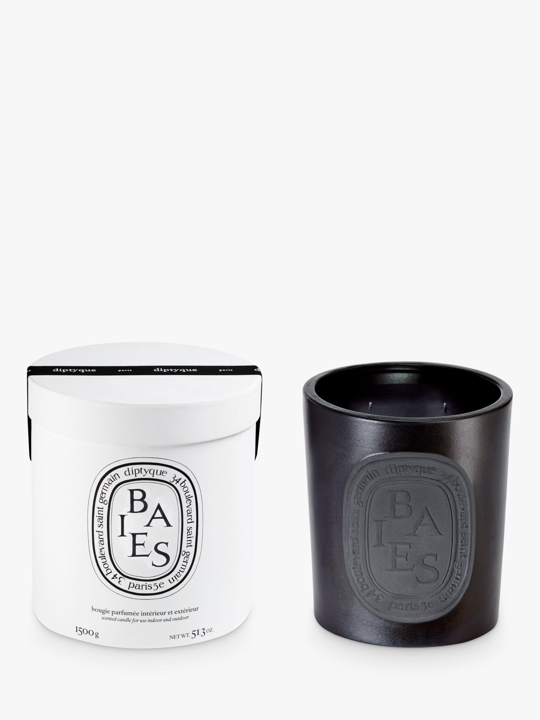 Diptyque Large Indoor & Outdoor Baies Scented Candle, 20g