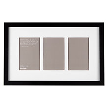 "Buy John Lewis Multi-aperture Box Photo Frame, 3 Photo, 4 x 6"" (10 x 15cm) Online at johnlewis.com"