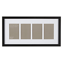 "Buy John Lewis Multi-aperture Box Photo Frame, 4 Photo, 4 x 6"" (10 x 15cm) Online at johnlewis.com"