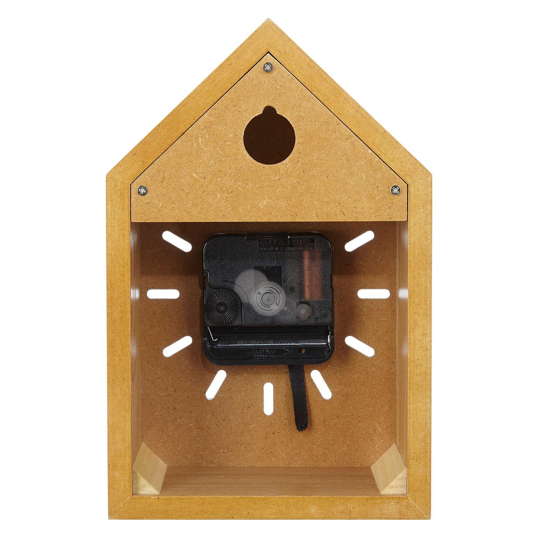house by john lewis wooden clock white at john lewis. Black Bedroom Furniture Sets. Home Design Ideas