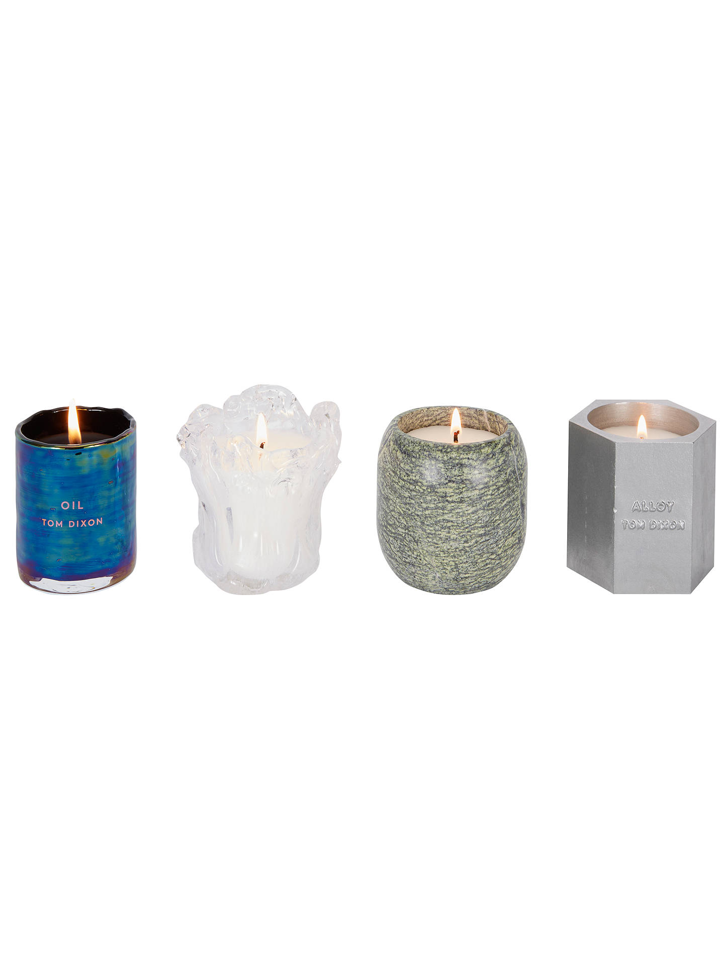 BuyTom Dixon Materialism Scented Candle Luxury Gift Set Online at johnlewis.com