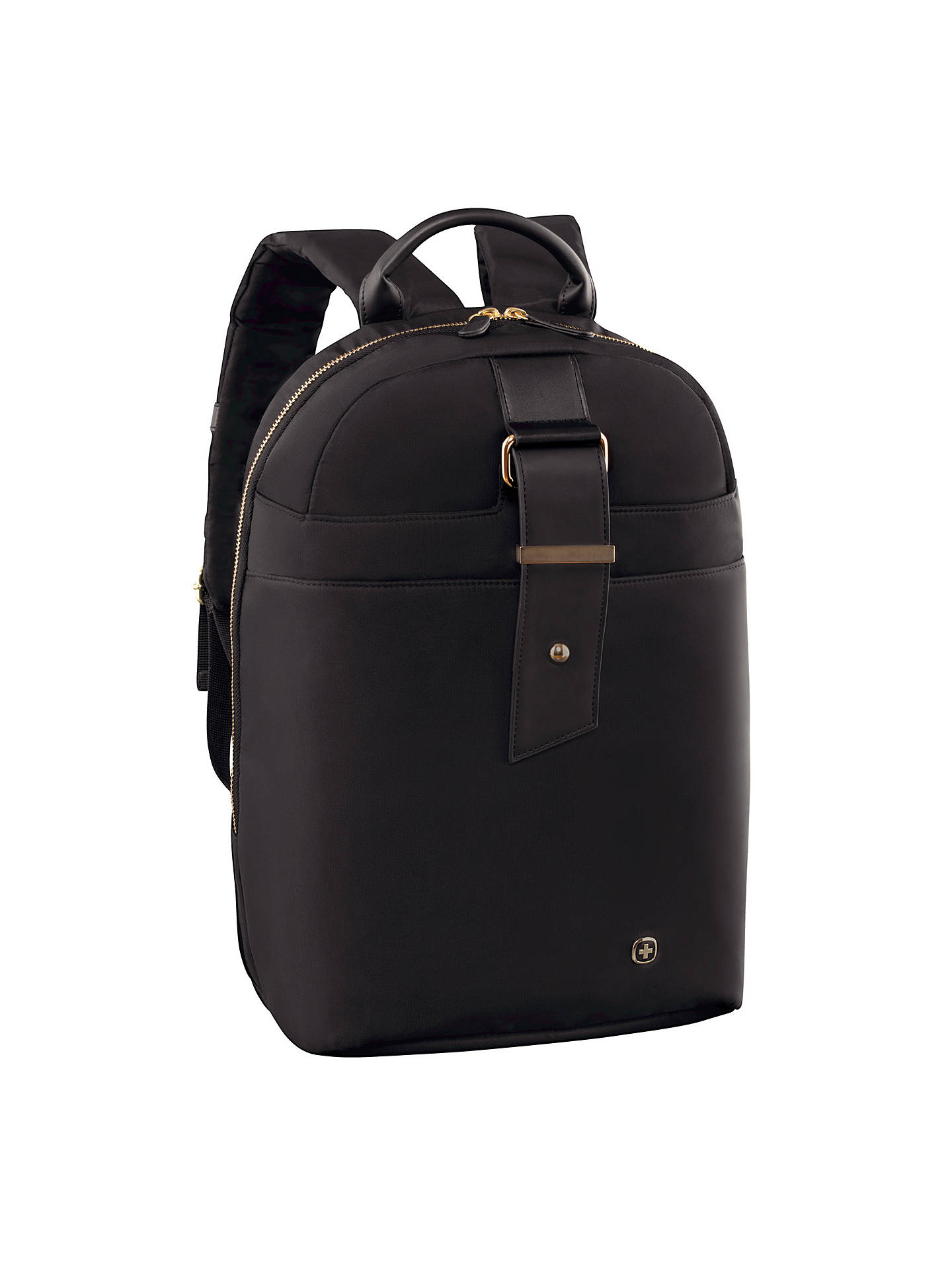 "BuyWenger Alexa 16"" Laptop Backpack with Tablet Pocket, Black Online at johnlewis.com"